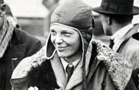 La aviadora Amelia Earhart