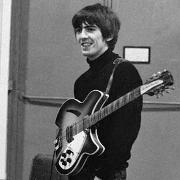 George Harrison y su Rickenbacker 360/12 de 1964