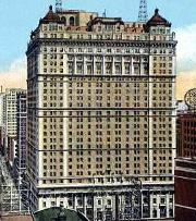 El Book Cadillac Hotel, en los años 20