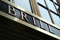 Detalle de la entrada del Brill Building