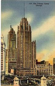 La torre del 'Chicago Tribune'