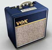 El Vox AC4 azul, o AC4C1BL