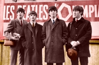 Los Beatles en París, en 1964