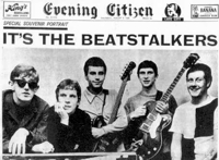 The Beatstalkers, en 'The Evening Citizen', en 1965