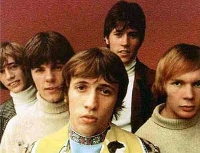 The Bee Gees, como quinteto, en 1967