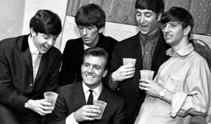 Billy J. Kramer con Los Beatles, en 1963