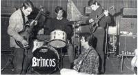 Los Brincos en 1965. Atención al Höfner