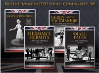 'British Invasion', los DVDs (2009)