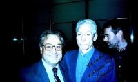 Delfín y Charlie Watts, en 2001