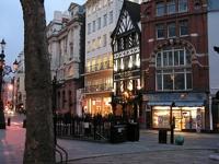 Fleet Street, Londres, en otoño