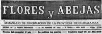 'Abejas y flores', semanario de Guadalajara