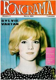 'Fonorama' nº 5, de marzo de 1964, con Silvie Vartan en la portada, y un montón de cosas interesantes dentro