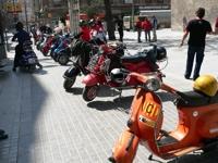 Scooters en Lleida, abril de 2006 (C) Fernando Pado