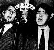 Juan y Junior en la Ser, 1967