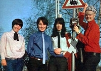 The Liverbirds en Alemania, en 1965 o 1966