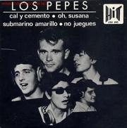 El único EP de Los Pepes, en 1966