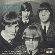 The Mascots. El single sueco de 'Words Enough To Tell You' (1966)
