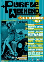 Cartel del Purple Weekend 2005