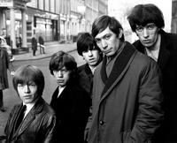 Los Rolling Stones, con Brian Jones, en 1964
