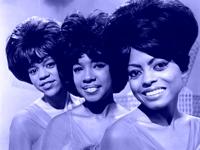 Florence Ballard, Mary Wilson y Diana Ross, The Supremes, en la primera etapa de su carrera artística (1964)