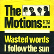 The Motions y su 'Wasted Words' (1965)