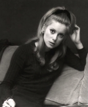 Françoise Dorléac, a mediados de los 60