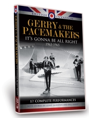 'British Invasion: Gerry & The Pacemakers', en DVD