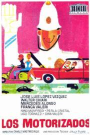 Cartel español de 'Il motorizzati' (1964)