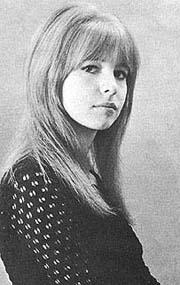 Jane Asher en 1964 - 1965.