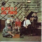 El EP que Novola sacó con algunas canciones de 'Codo con codo' (1967)