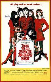 Cartel original de 'Here We Go Round The Mulberry Bush'