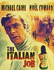 Cartel original de la película 'The Italian Job'.