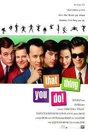 Cartel original de la película 'That Thing You Do!'.
