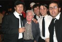 Los Brandys, con Allan Williams