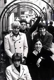 Los Easybeats en Londres, a primeros de 1967.