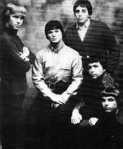 The Electric Prunes, a finales de 1966. Ritter está a la derecha, abajo.