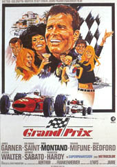 Cartel original de 'Grand Prix'