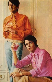 Juan y Junior, a primeros de 1967.