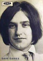 Dave Davies (Kinks), en 1966.