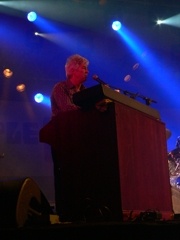 Ian McLagan, un Small Face en el Purple 07