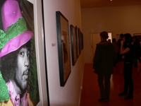 La expo de Gered Mankowitz, en el Purple 05 (C) F. Pado