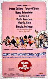Cartel original de 'What's New Pussycat?