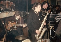 The Roadrunners, en el Hope Hall de Liverpool, circa 1963