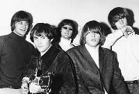 Los Byrds, a principios de 1966. (C) Chris Walter.