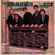 The Zombies sonríen en la portada de un EP